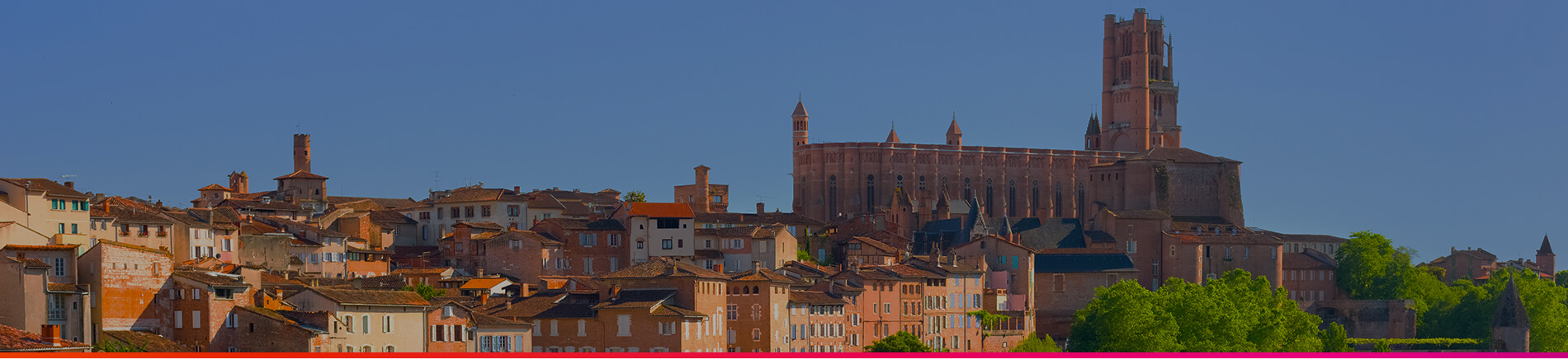 Toulouse Welcome - Header Albi