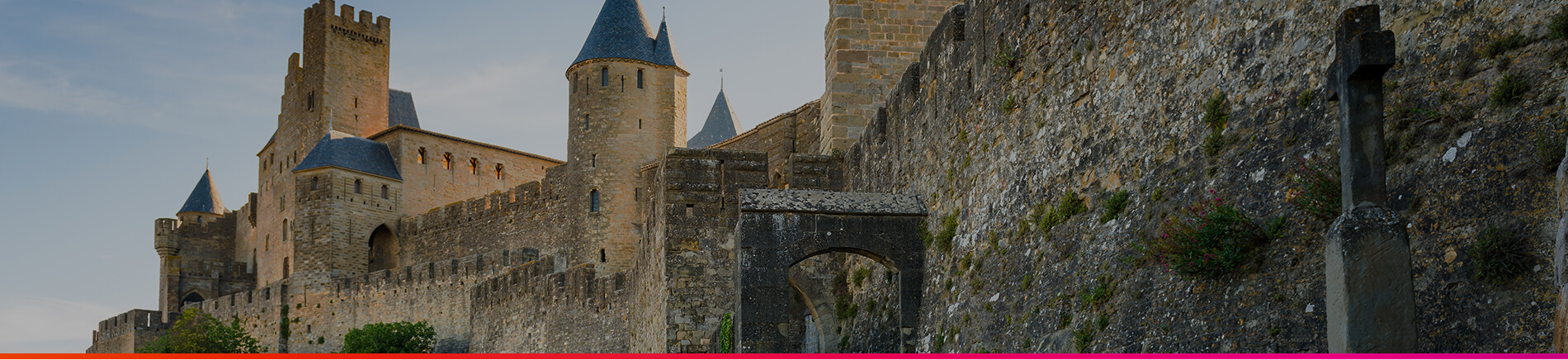 Toulouse Welcome - Header Carcassonne Château Comtal