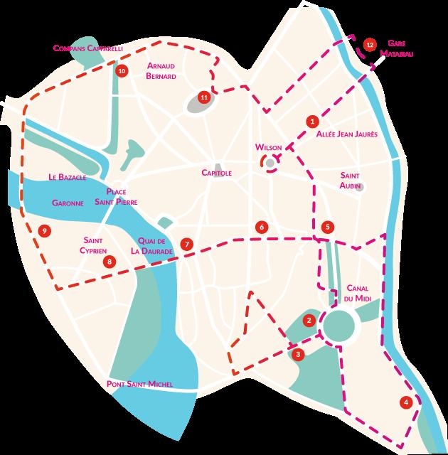 City Tour Toulouse